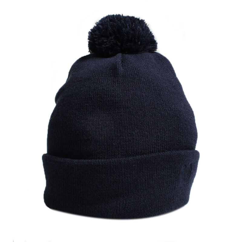 Palm Grove Knitted Ladies Beanie Female Peacoat One Size