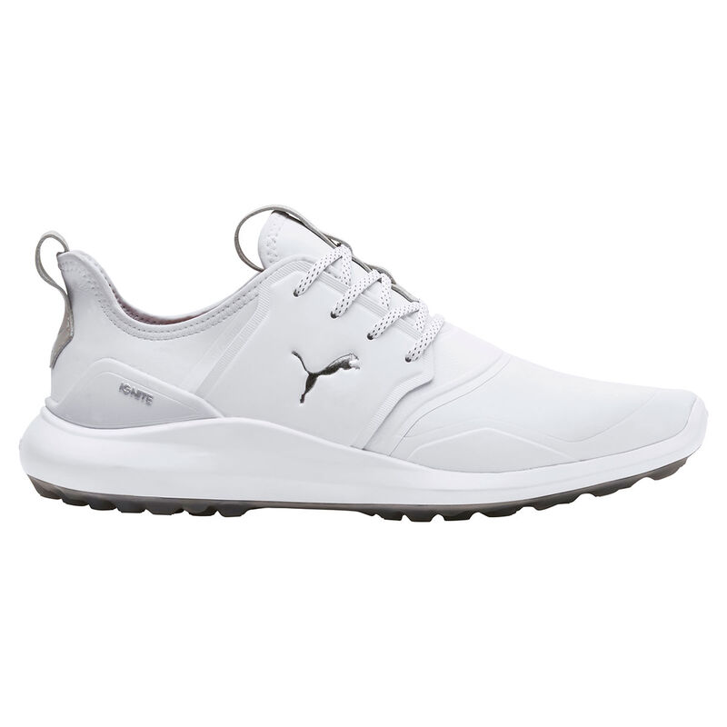 PUMA Golf IGNITE NXT Pro Shoes Male WhiteSilverGray Violet 11