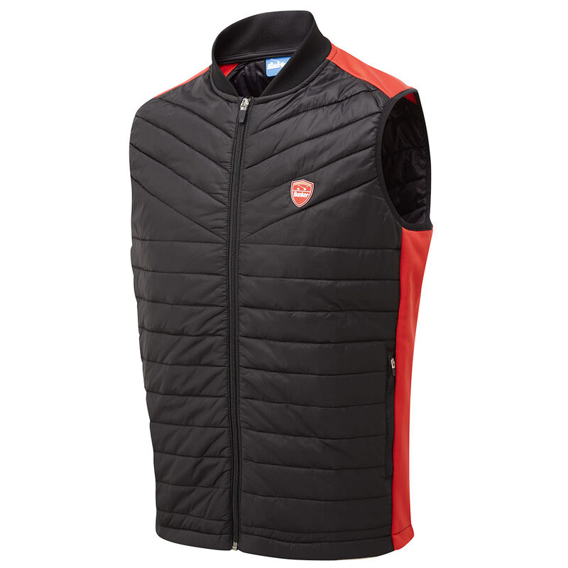 Bunker Mentality Puffer Caddy Kai Gilet Male Black Large