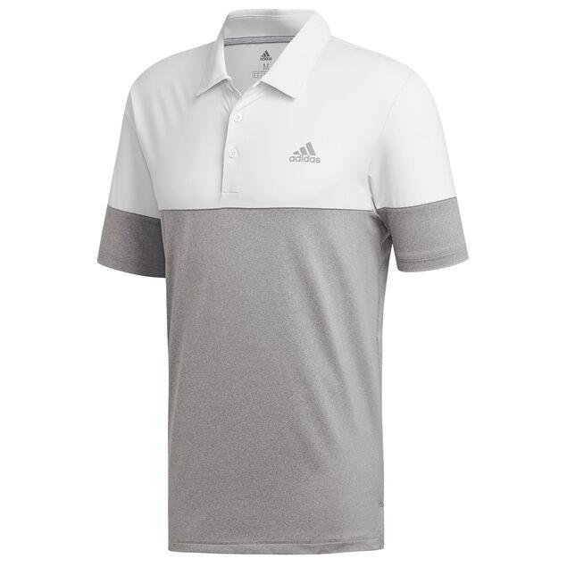 b2e8fca5 adidas Golf Ultimate 365 Heather Block Polo Shirt from american golf