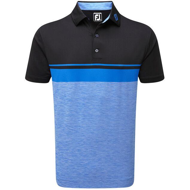 3fdd0f7e FootJoy Lisle Colour Block Space Dye Polo Shirt from american golf