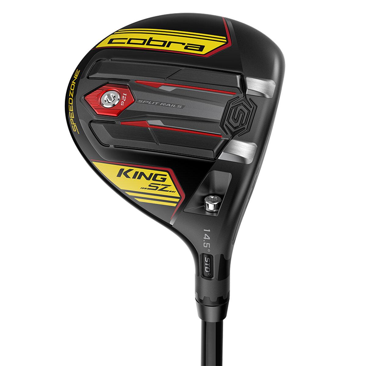 Cobra Golf Blue King SPEEDZONE Right Hand Tensei Av 65 Regular Golf Fairway Wood, Size: 18.5°   American Golf