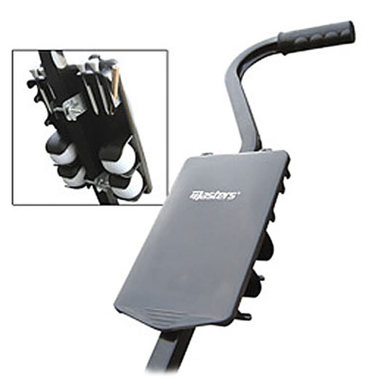 Masters Golf Trolley Score Card Holder Male BlackRed 34 Inches