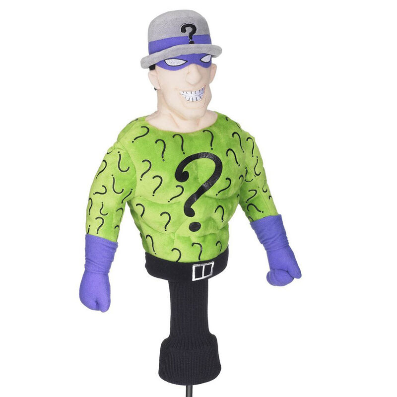 Creative Covers The Riddler Driver Head Cover Male THE RIDDLER