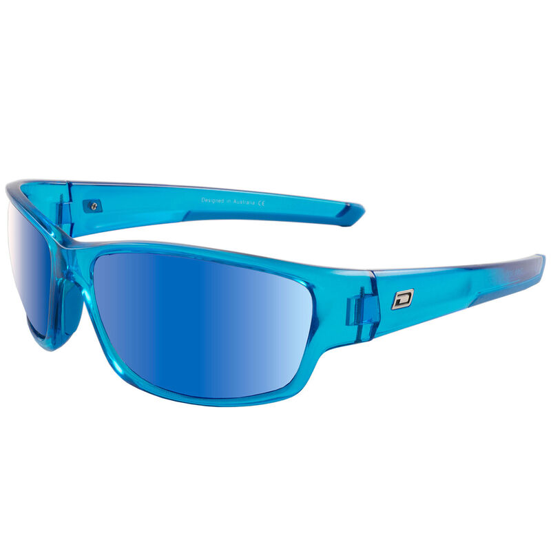 Dirty Dog Sport Chain Mirror Polarised Sunglasses Male CrystalBlueBlue