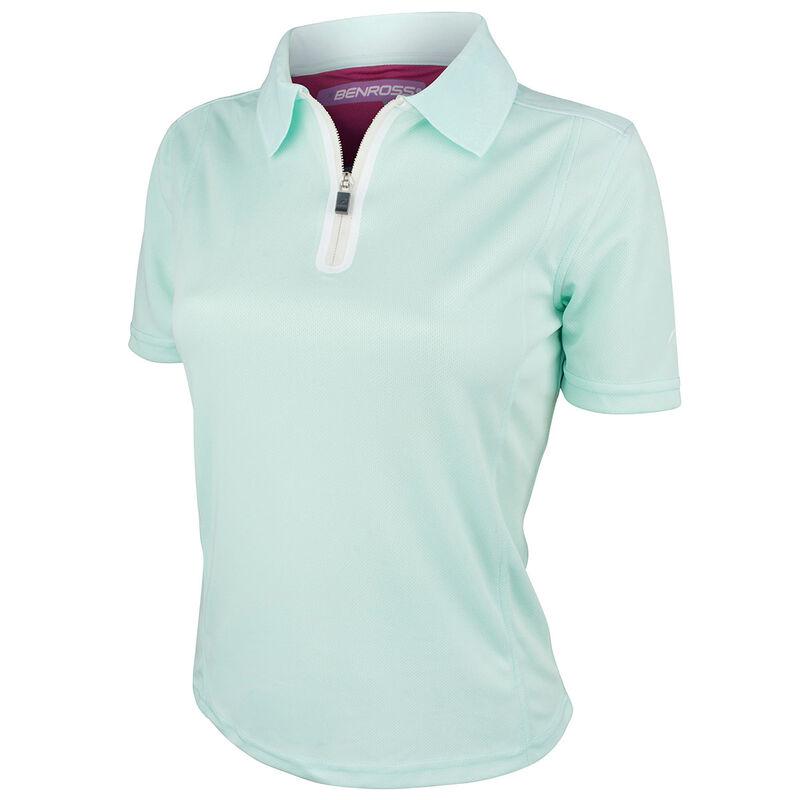 Benross ProShell Ladies Polo Shirt Female Mint 8