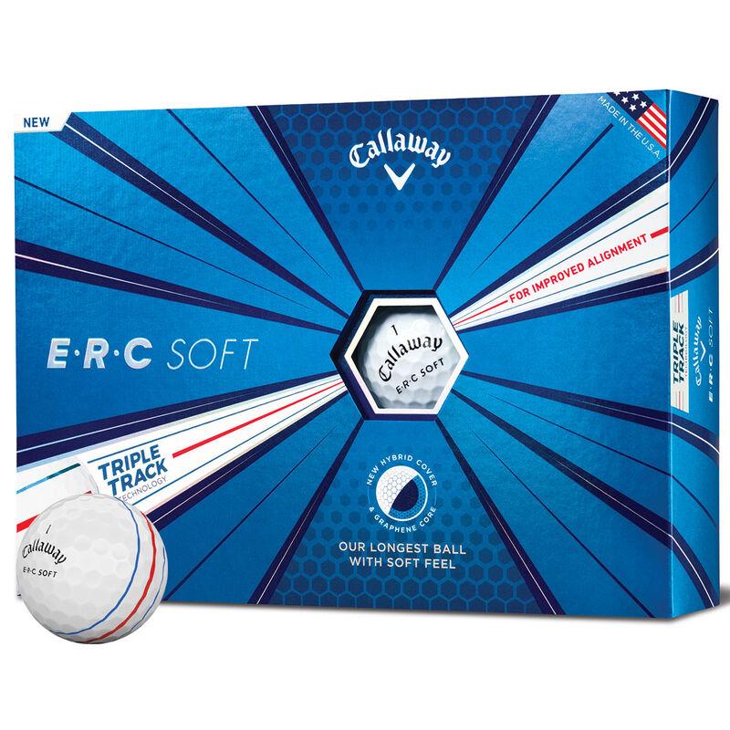 Callaway Golf ERC Soft Triple Track 12 Ball Pack Male White