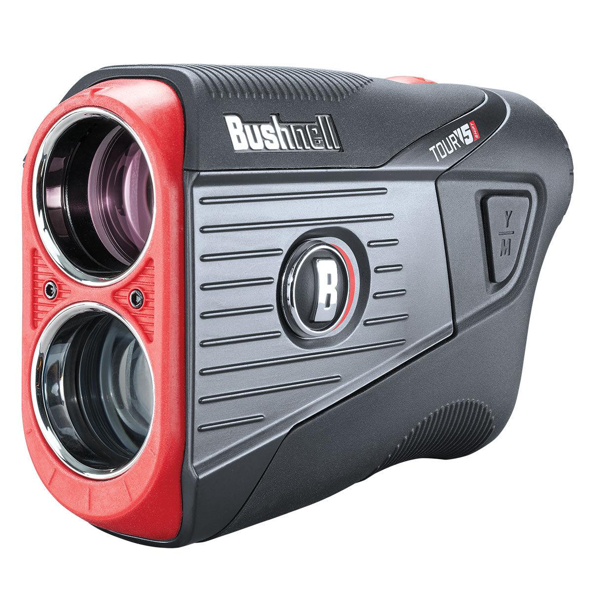 Bushnell Mens Black and Orange TOUR V5 Shift Slim Rangefinder 2021, Size: One Size | American Golf | American Golf