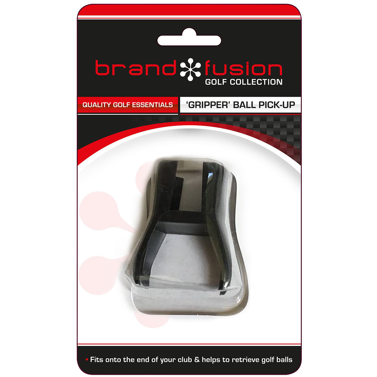 The Golfers Club Black BrandFusion Gripper Ball Pick Up, Size: One Size | American Golf