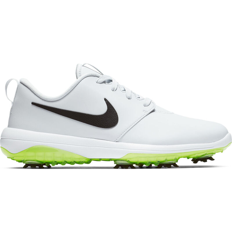 Nike Golf Roshe G Tour Shoes Male Pure PlatinumBlackWhiteVolt 8 Regular