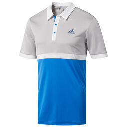 310581e0 adidas Golf Advantage Heather Block Polo Shirt