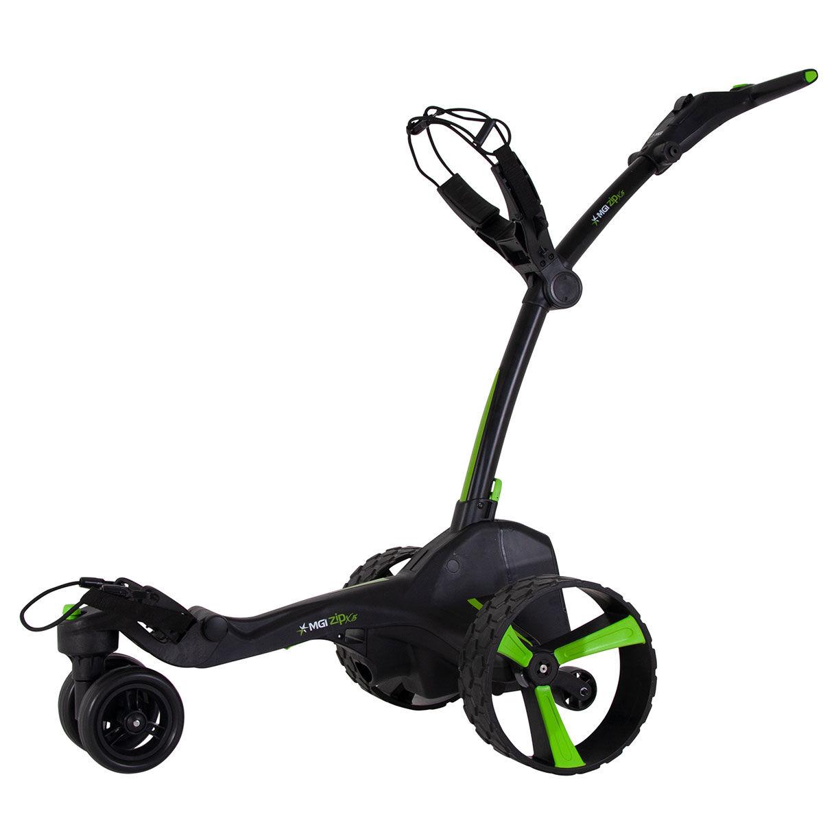 """MGI Golf Black Zip X5 Lithium Electric Golf Trolley, Size: 27.55x18.5x16.5""""   American Golf   American Golf"""