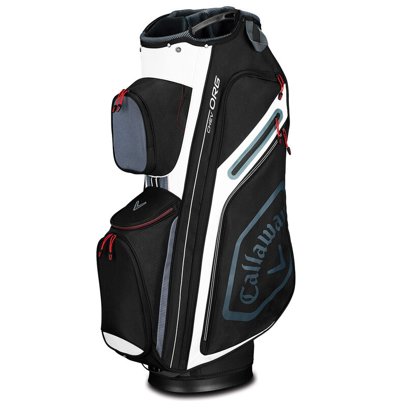 Callaway Golf Chev Org Cart Bag 2019 Male BlackTitaniumWhite