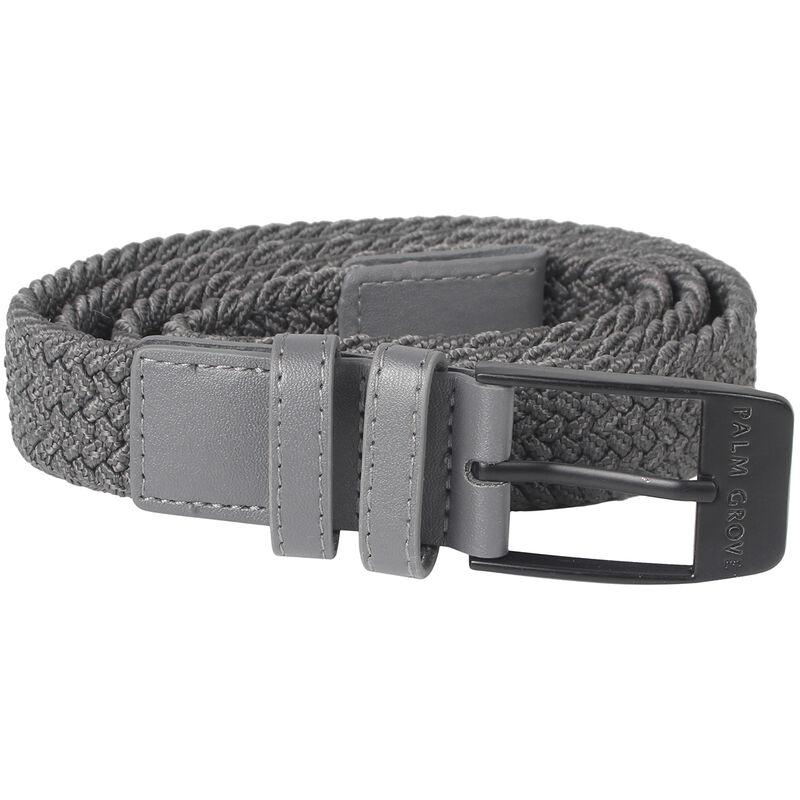 Palm Grove Woven Ladies Belt Female Grey LargeXL
