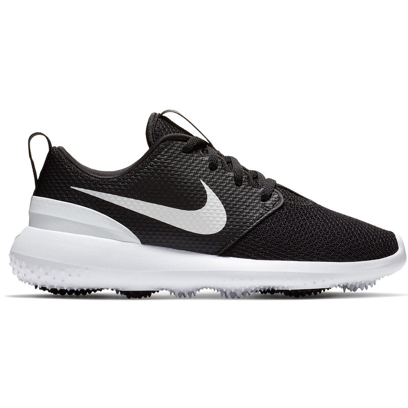 Nike Golf Rosche G Juniors Shoes Unisex BlackWhite 15