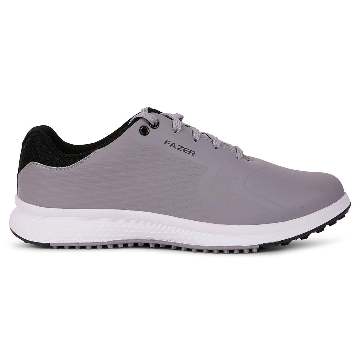 Fazer Explorer Golf Shoes, Mens, Grey, 10 | American Golf