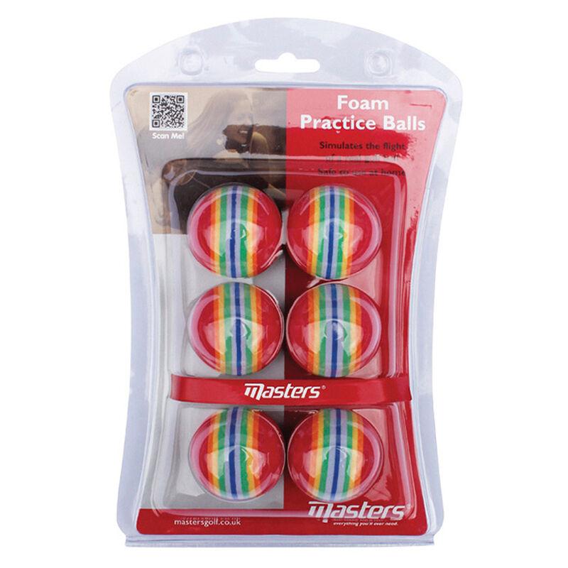 Masters Golf Practice Foam Practice Balls Male Multi Coloured