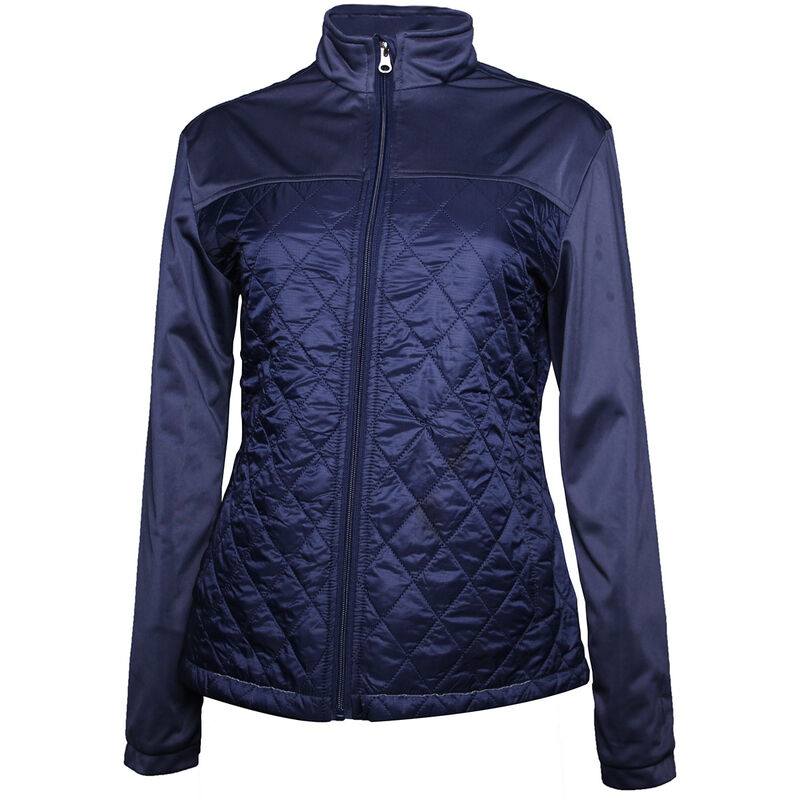 Palm Grove Quilted Ladies Jacket Female Peacoat 16