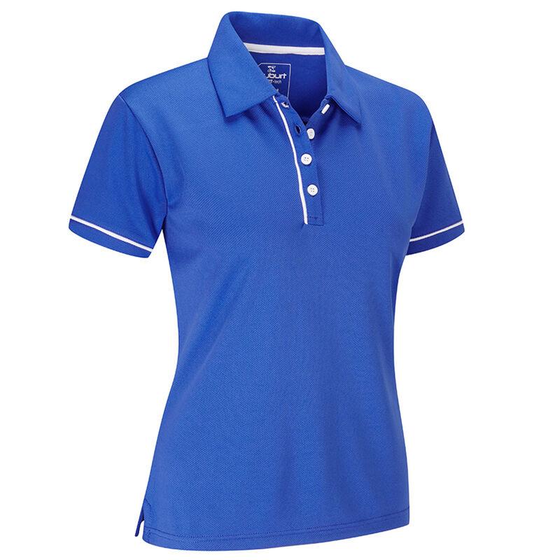 Stuburt Sport Tech Ladies Polo Shirt Female Imperial Blue Medium