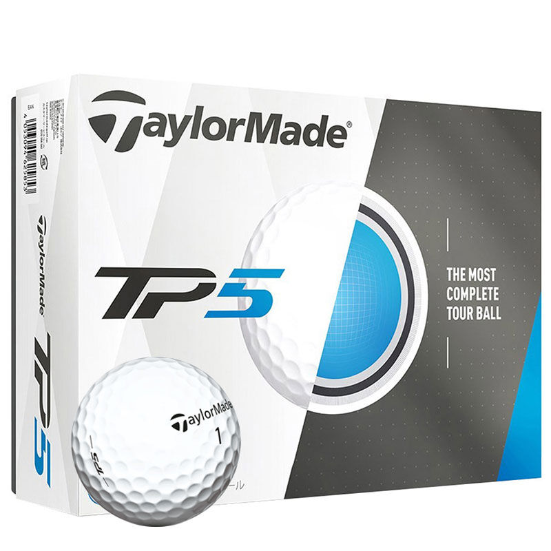 TaylorMade TP5 12 Ball Pack Male White