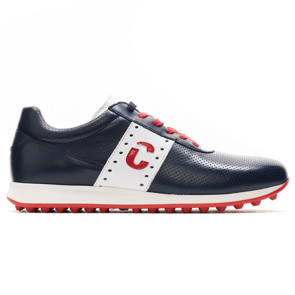 Duca Del Cosma Belair Golf Shoes, Mens, Blue, 10   American Golf