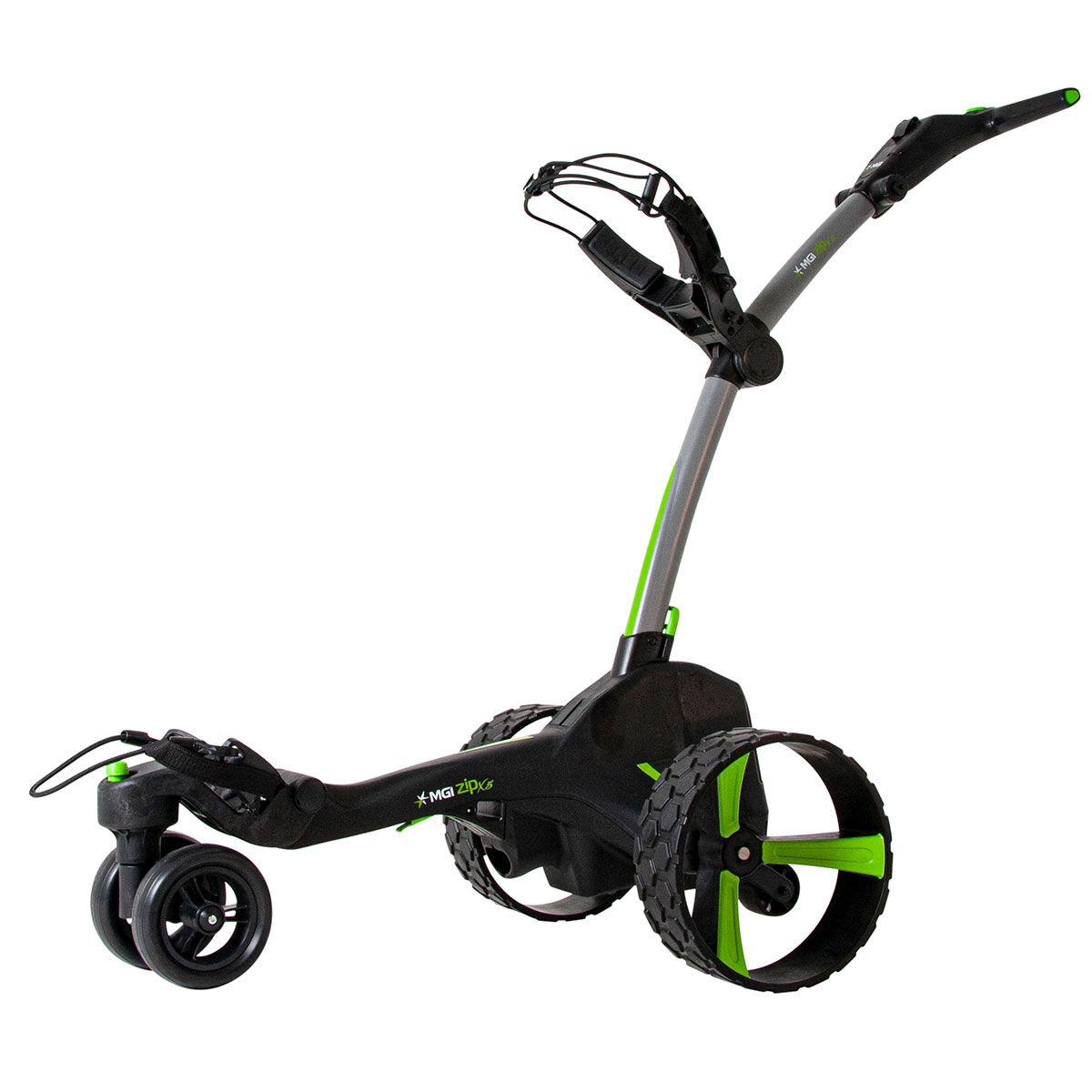 """MGI Golf Grey Zip X5 Lithium Electric Golf Trolley, Size: 27.55x18.5x16.5""""   American Golf   American Golf"""