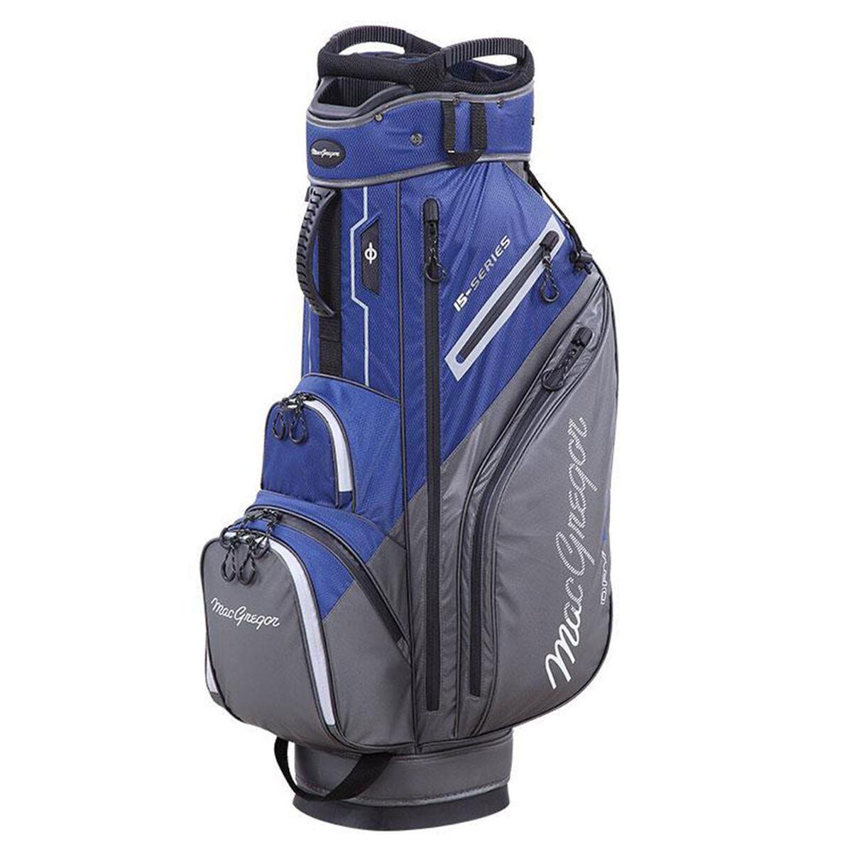 MacGregor 15-Series Water-Resistant Golf Cart Bag, Navy/grey, One Size   American Golf