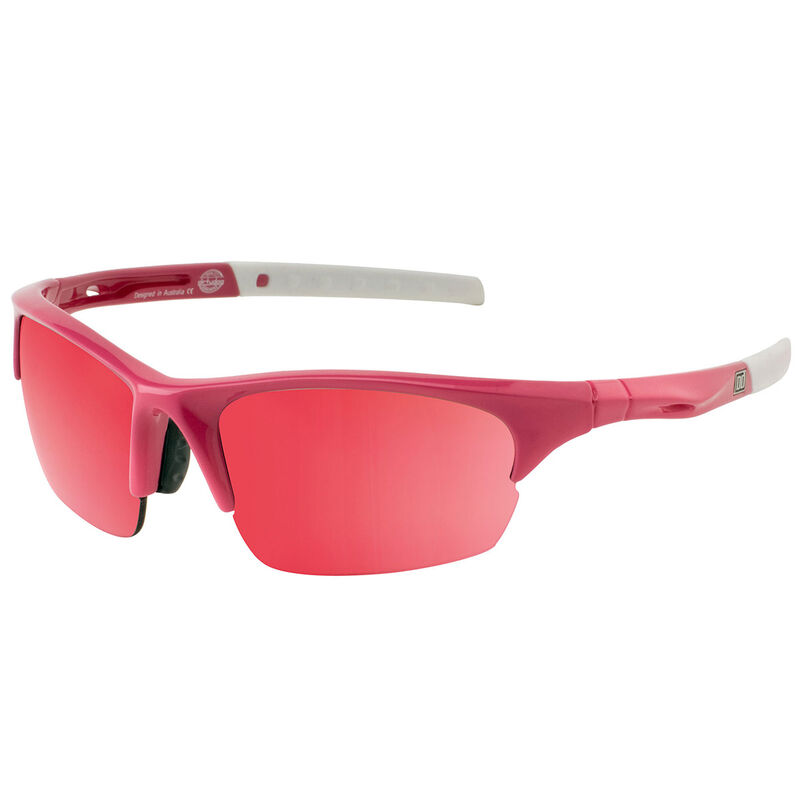 Dirty Dog Sport Ecco Mirror Polarised Sunglasses Male WhitePinkFlash