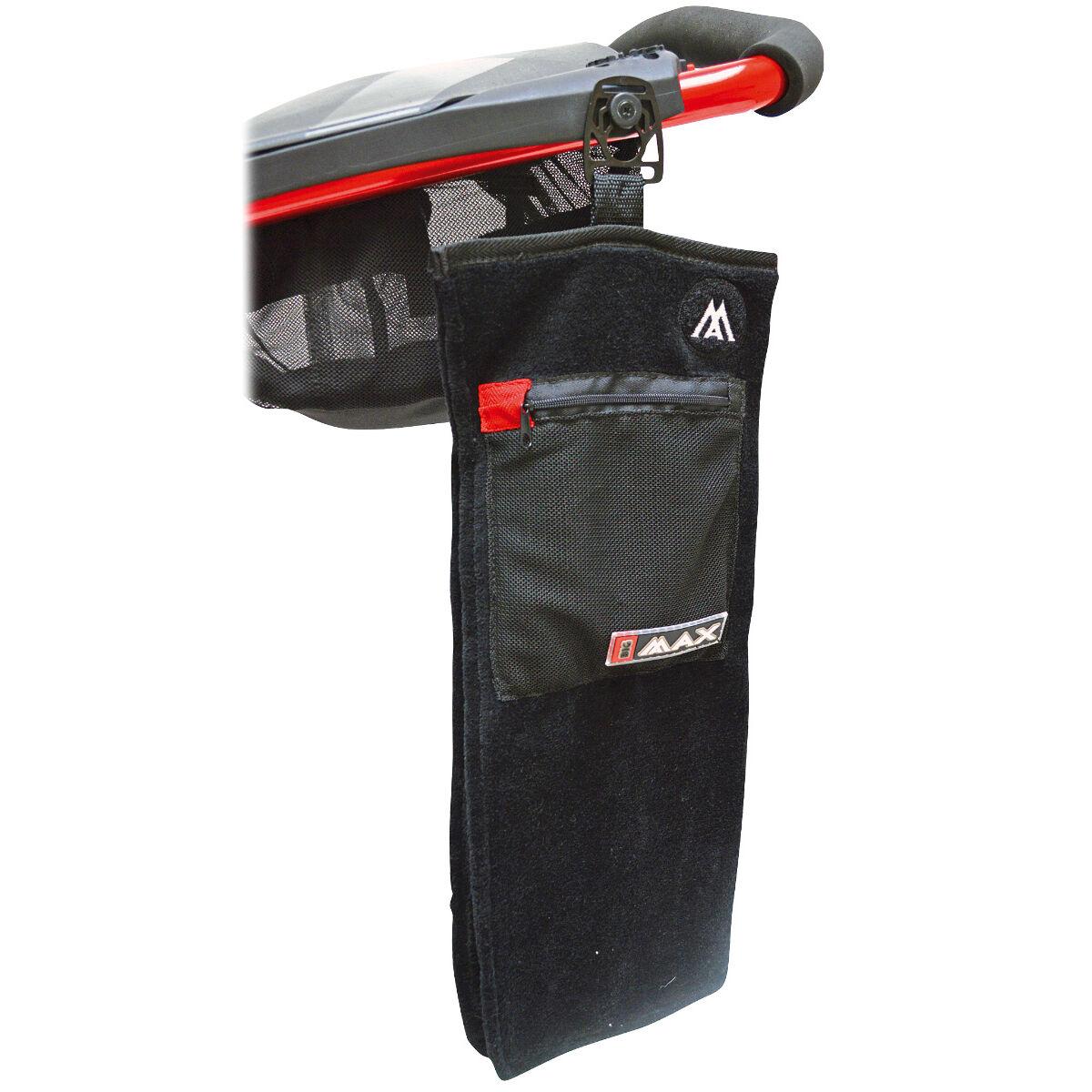 BIG MAX Quick Lok Towel, Male, One size, Black | American Golf