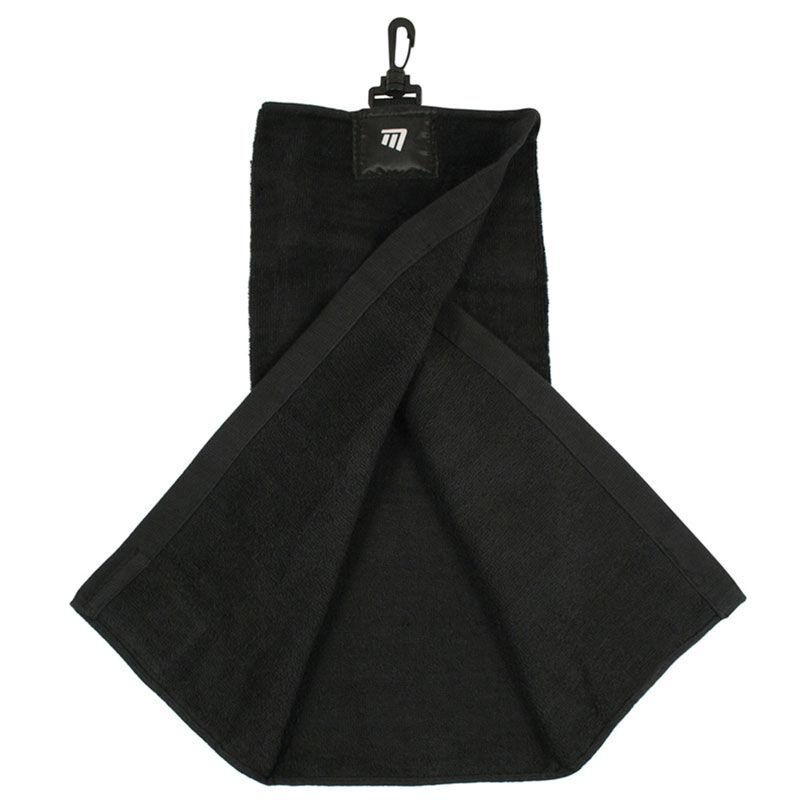 Masters Golf Tri Fold Towel Male Black