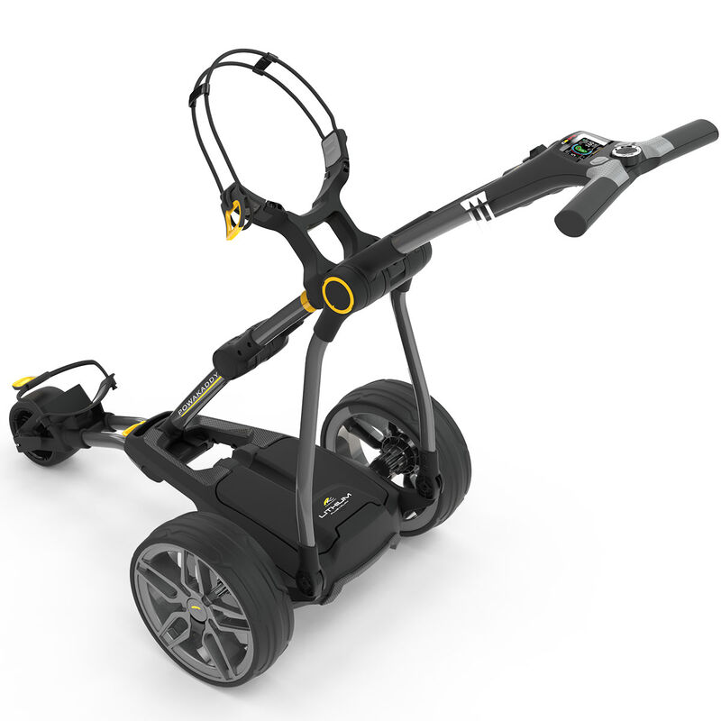 PowaKaddy Compact C2i 18 Hole Lithium Trolley 2019 Male 18 HOLE Gunmetal