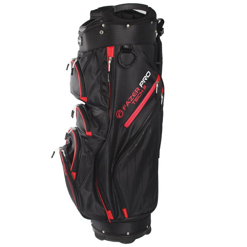 Fazer Pro Tech 5 Cart Bag Male Black Red