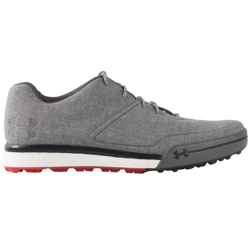 Under Armour Tempo Hybrid 2 Shoes Male Grey HeatherRhino GreyRed 7