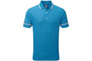 FootJoy Smooth Pique Stripe Polo Shirt