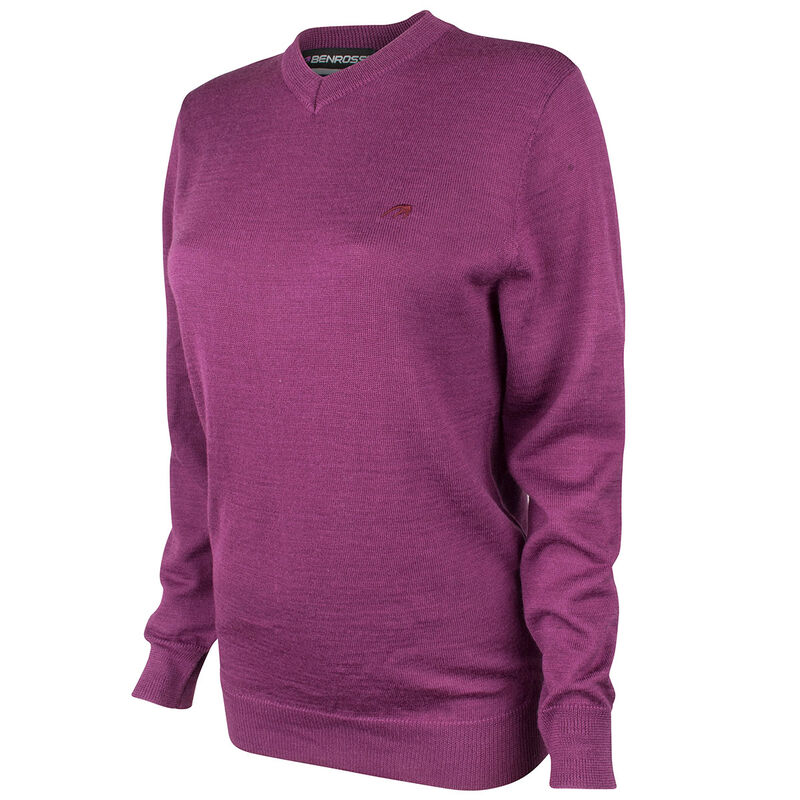 Benross Versailles Ladies Sweater Male Plum 14