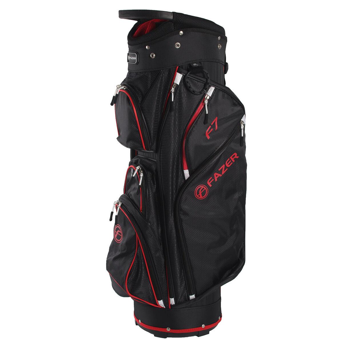 Fazer F7 Golf Cart Bag, Black Red