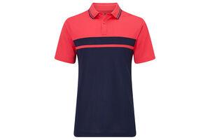 Callaway Golf Colour Blocked Pique Polo Shirt