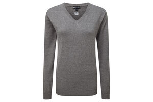 Palm Grove Core V-Neck Ladies Sweater