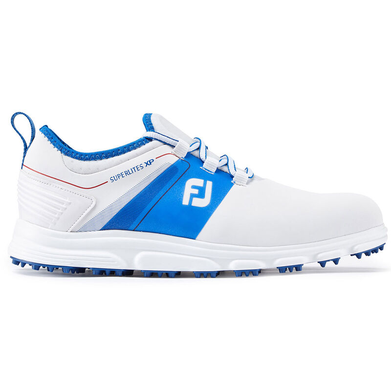 FootJoy Superlites XP Shoes Male WhiteBlueRed 11 Regular