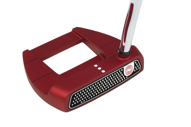 Odyssey O-Works Red Jailbird Mini SS Putter