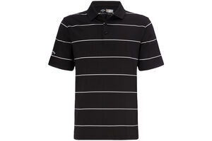 Callaway Golf Chev Auto Striped Polo Shirt
