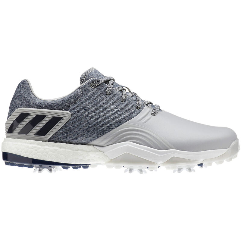 adidas Golf Adipower 4Orged Shoes Male GreyCollegiate NavyRaw White 11 Wide