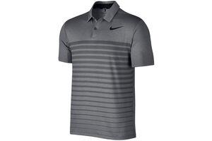 Nike Golf Dry Heather Stripe Polo Shirt