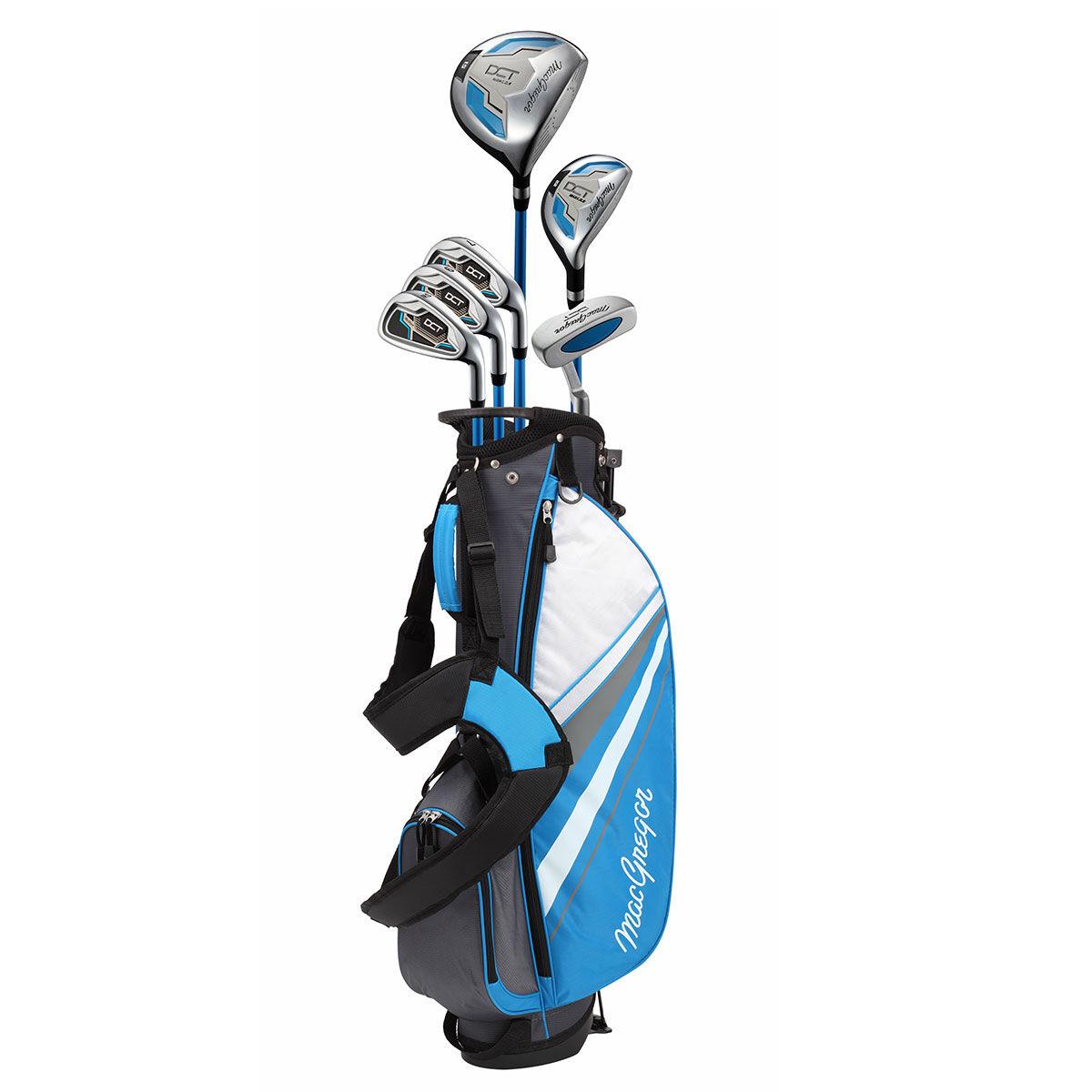 MacGregor DCT 9-12 Junior Golf Package Set, Unisex, Right hand, Blue   American Golf