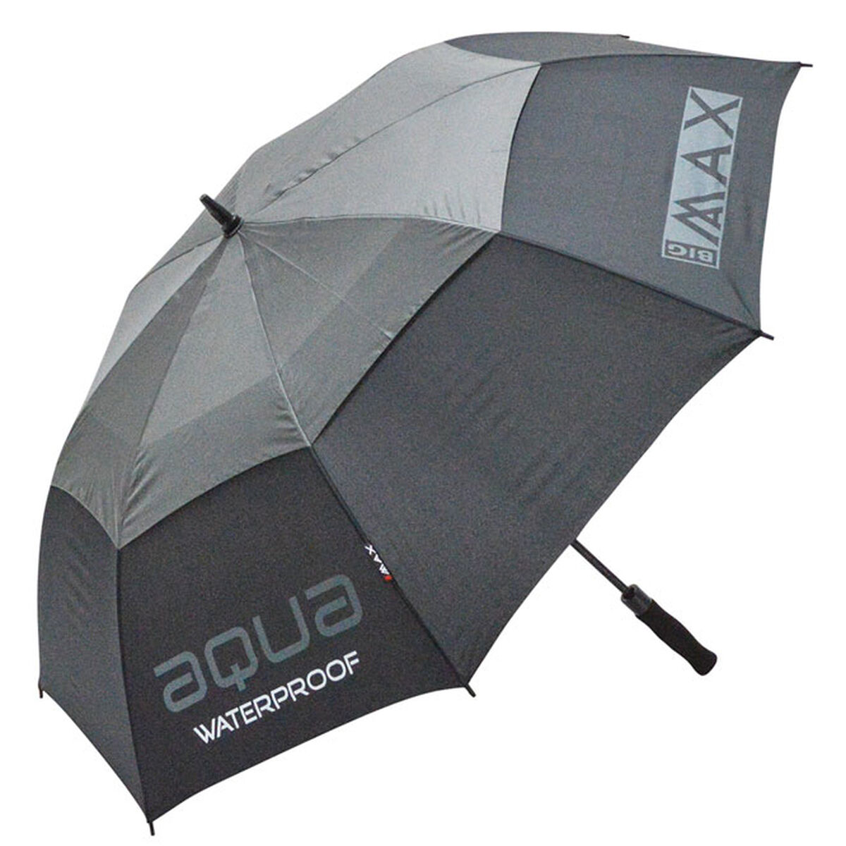 BIG MAX Aqua Umbrella, Male, Black/charcoal, 132cm | American Golf