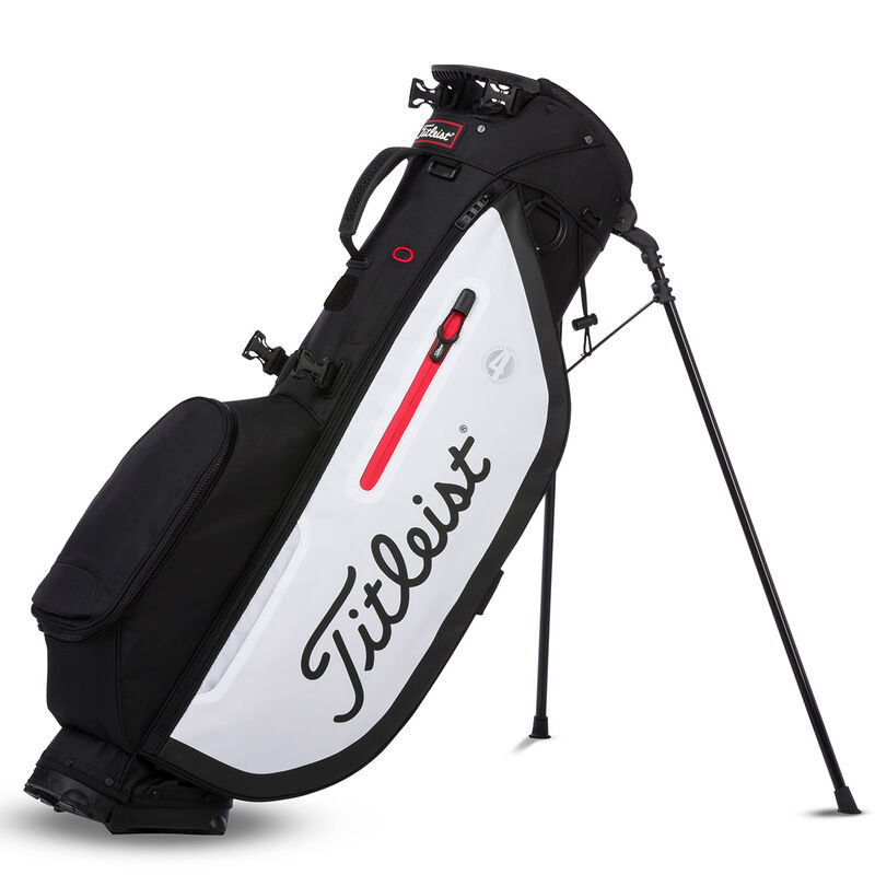 Titleist Players 4 Stand Bag Male BlackWhiteRed