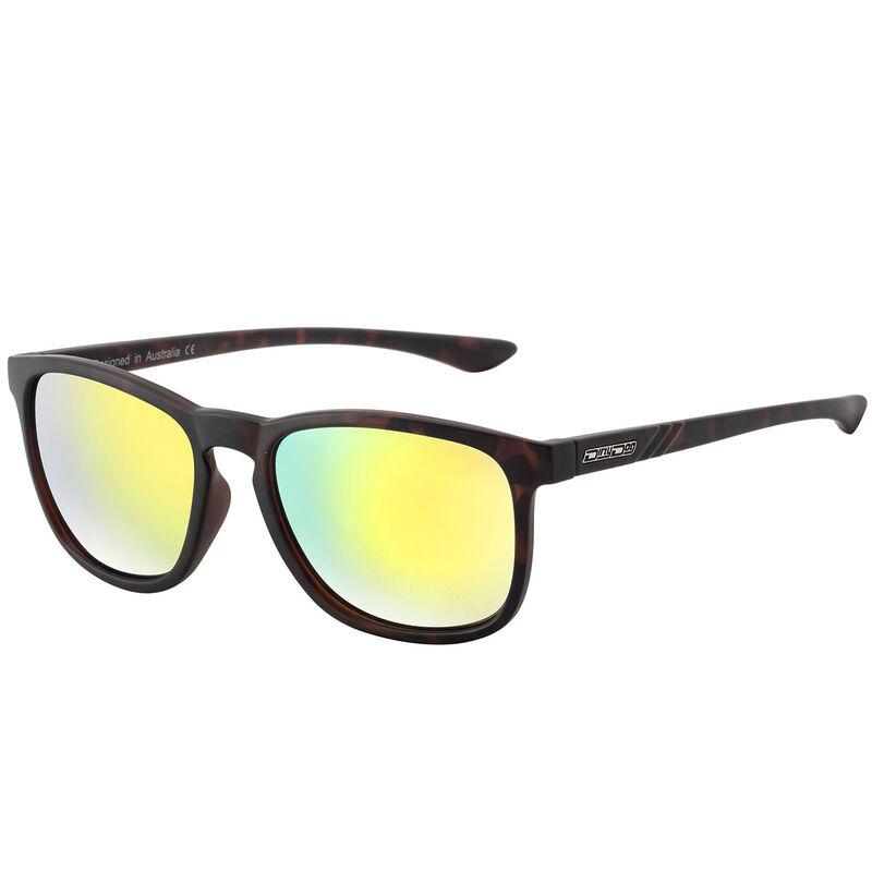 Dirty Dog Shadow Mirror Polarised Sunglasses Male TortoiseGold