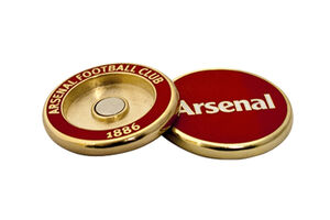 Premier Licensing Arsenal Duo Ball Marker Show your support for Arsenal