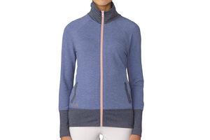 adidas Golf Rib-Knit Ladies Wind Jacket