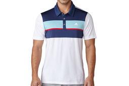 adidas Golf Chest Block Polo Shirt